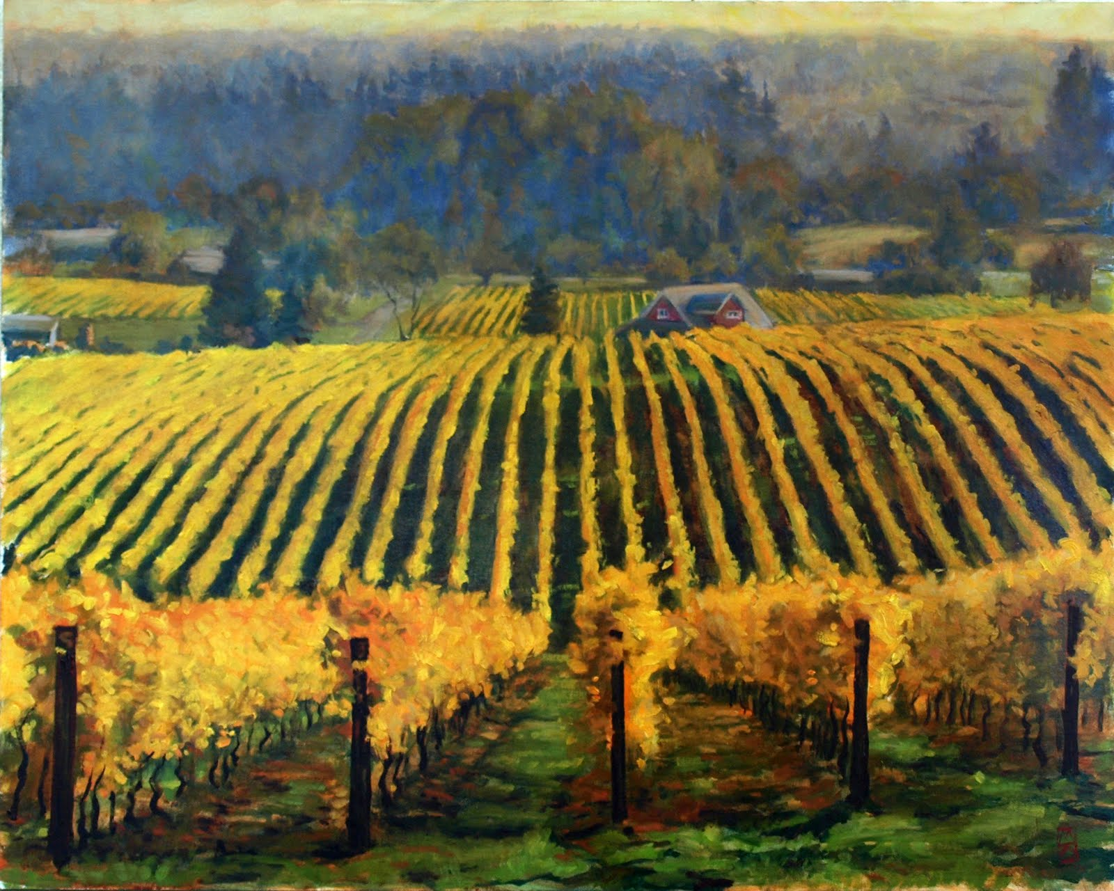 2010_Post_Harvest_Gold_24x30_oils_on_Canvas_Panel__